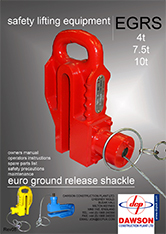 Ground Release Shackle Manual