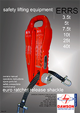 Ratchet Release Shackle Manual